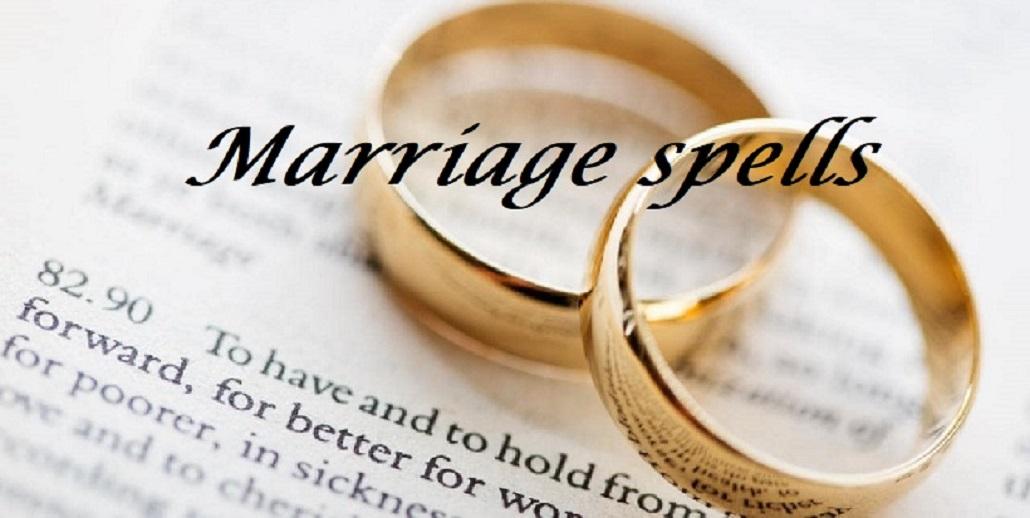 Marriage Love Spells