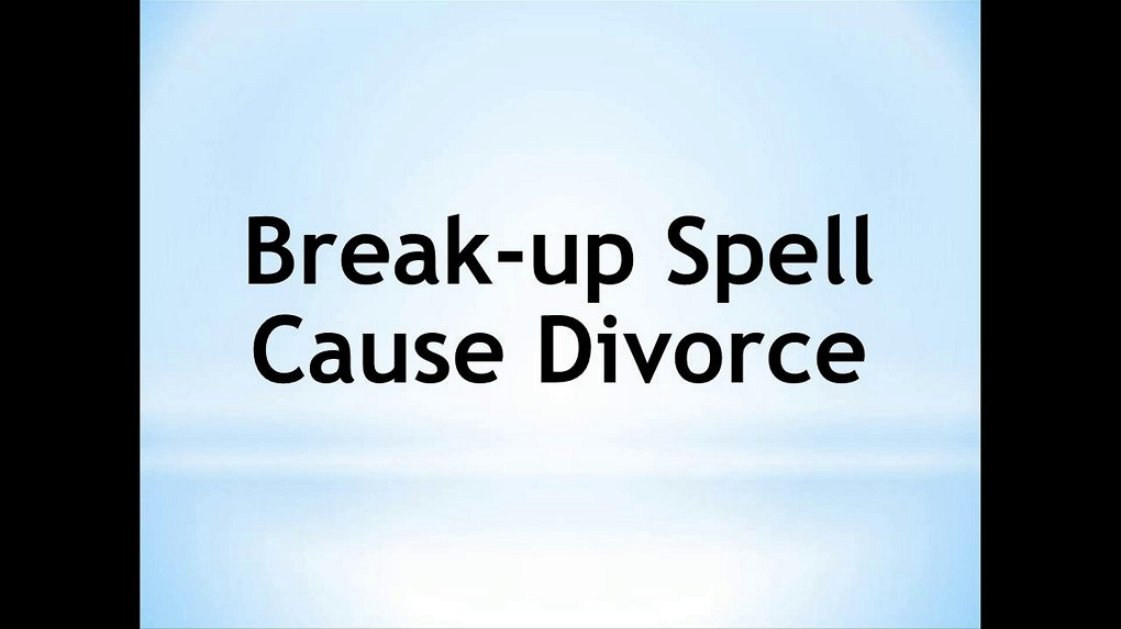 Spell For Break-Up